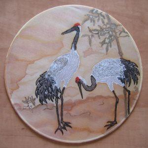 Sun catcher ''Cranes''